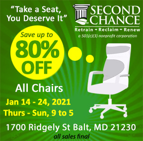 chairs sale Jan 2021