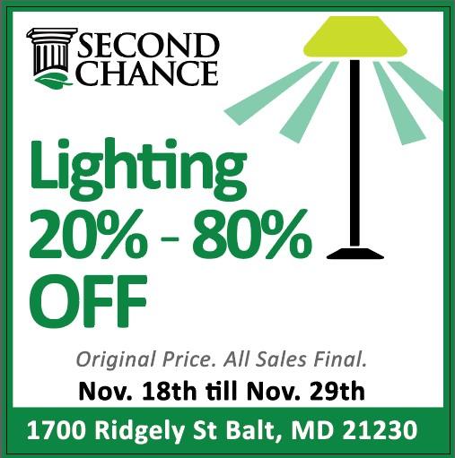 lighting sale nov 2020